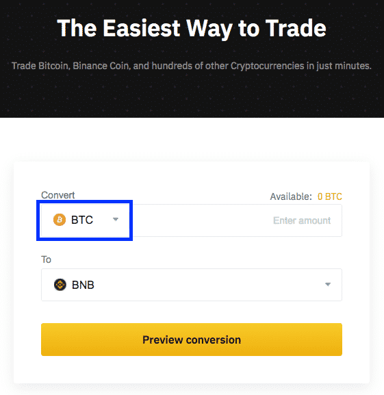 altcoin trading interface screenshot