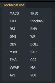 binance trading interface screenshot