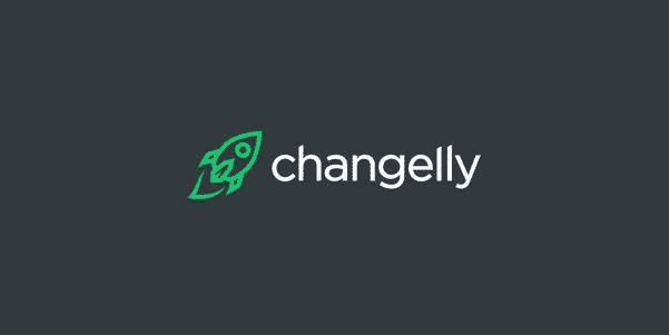 Changelly crypto exchange with lowest fees logo