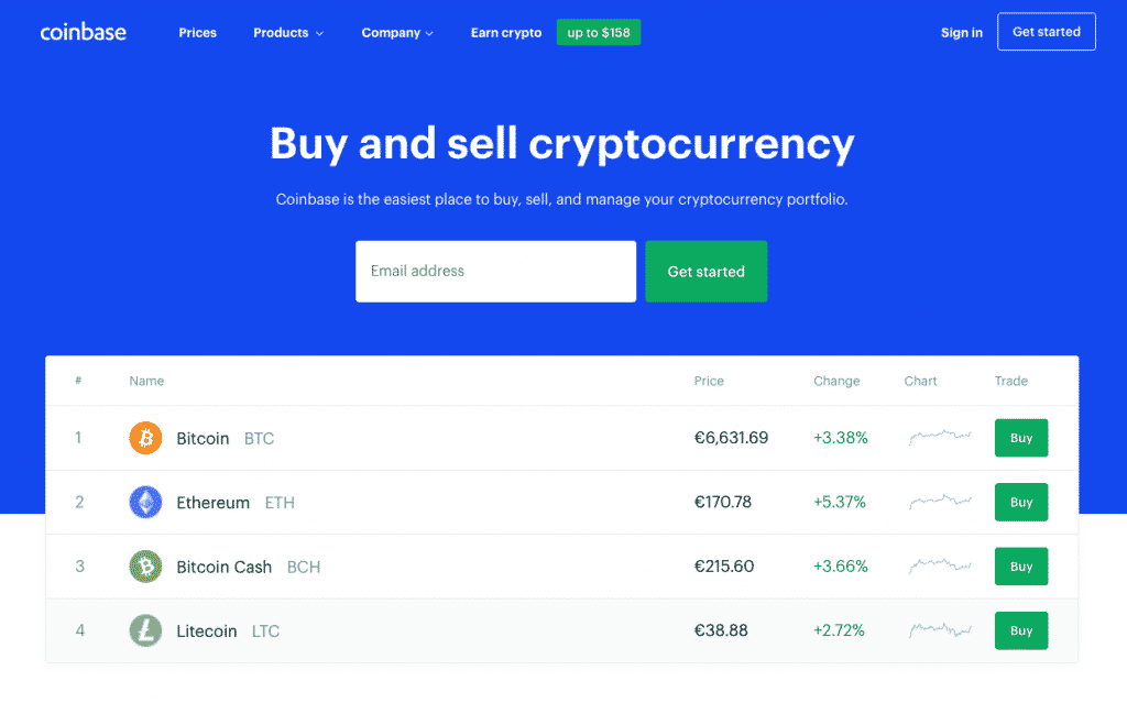 best exchange to trade altcoins coinbase