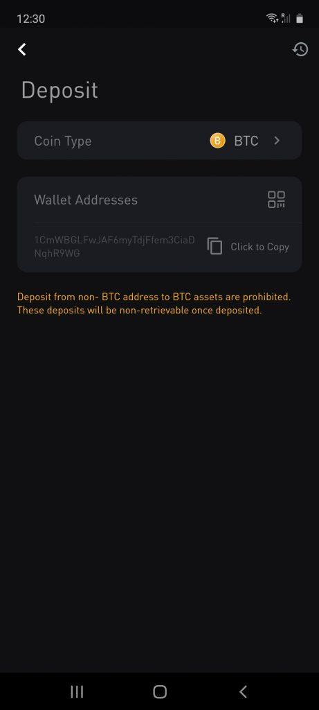 deposit methods on bybit