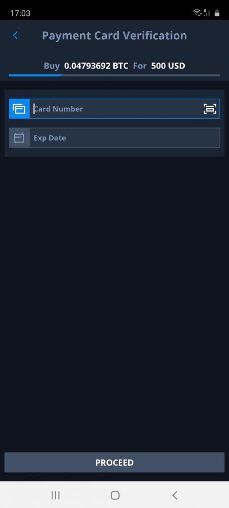 deposit methods on cex.io app