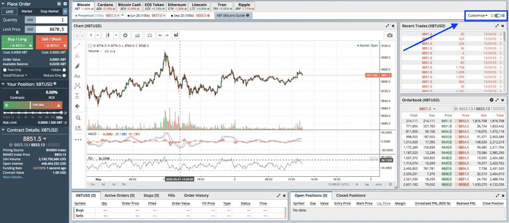 crypto leverage trading bitmex screenshot