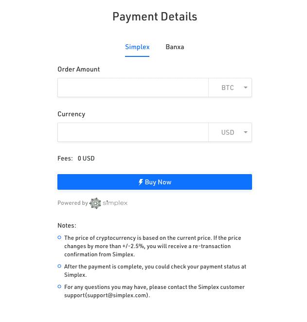 payment vendor on KuCoin