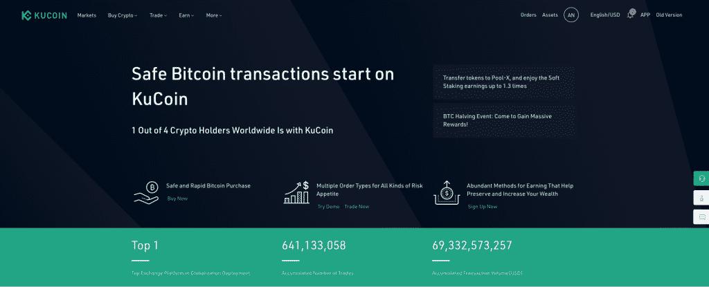 kucoin best exchange to short crypto