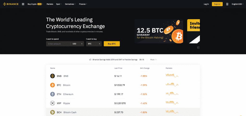binance best exchange to short crypto
