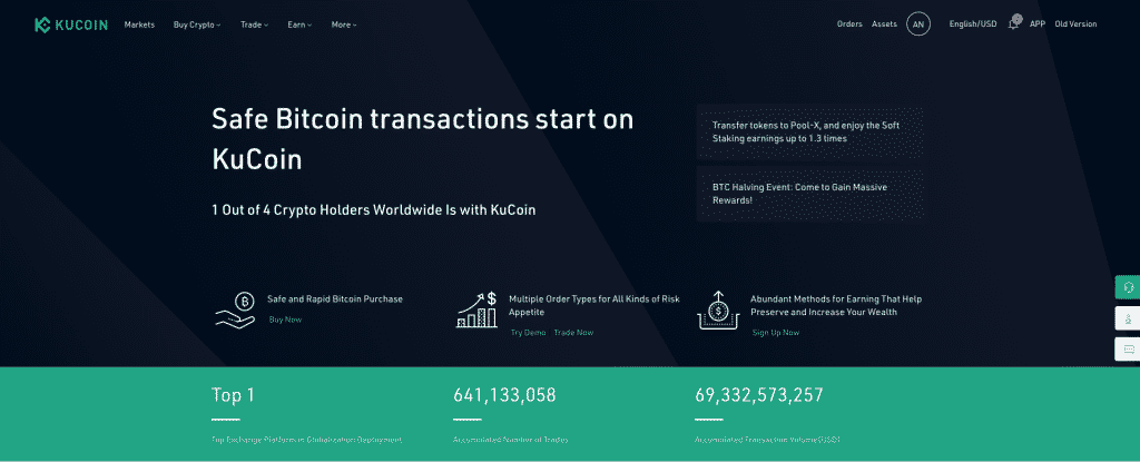 kucoin crypto exchange without kyc