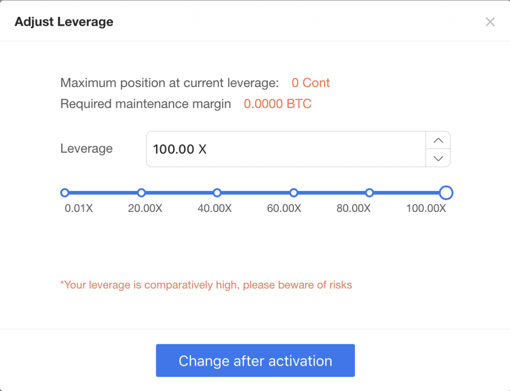 okex leverage trading