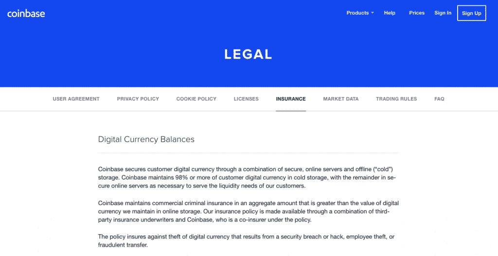 digital currency security on cryptocurrency exchange coinbase