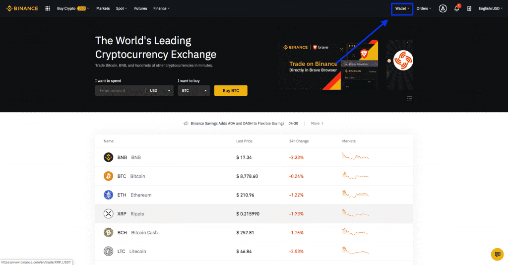 wallet for crypto beginners on binance