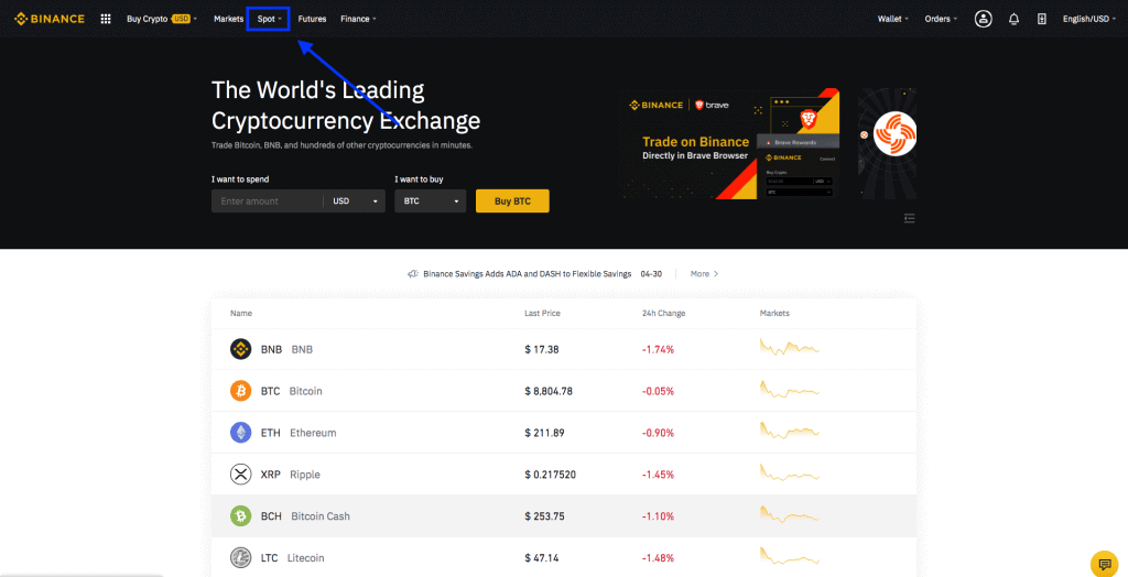 crypto trading for beginners on binance