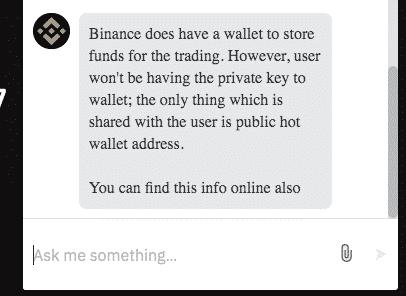 binance cryptocurrency exchange security