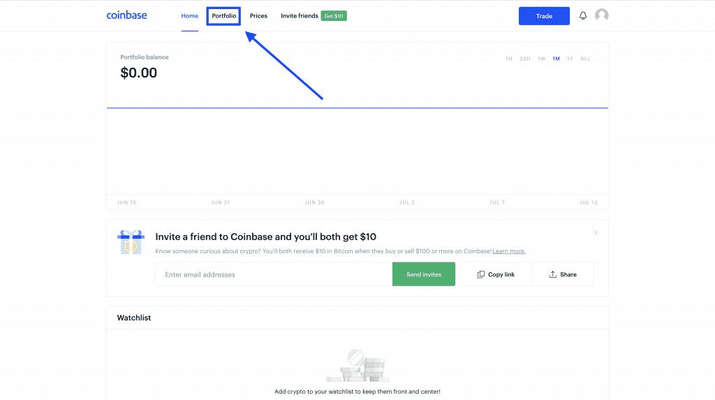 cash out bitcoin on coinbase
