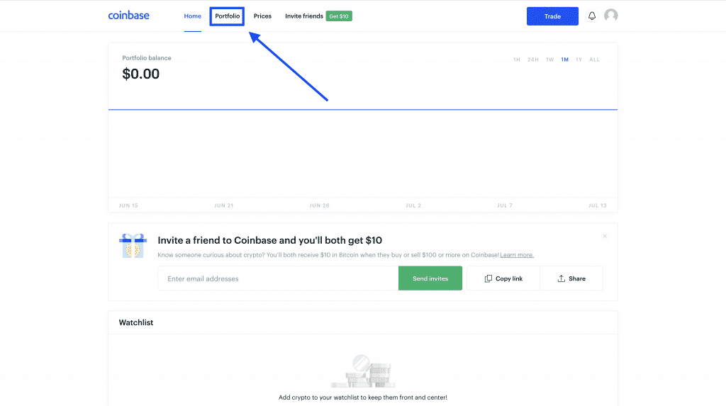 convert cryptocurrency to cash on coinbase