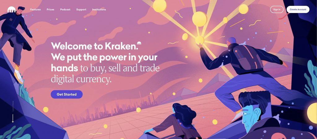 kraken bitcoin broker