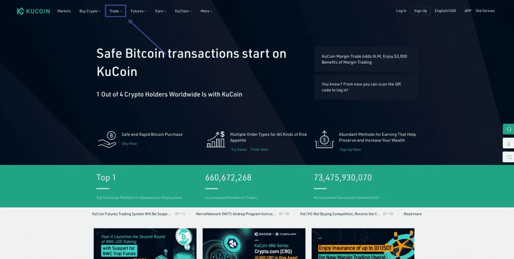 trade bitcoin on kucoin bitcoin broker