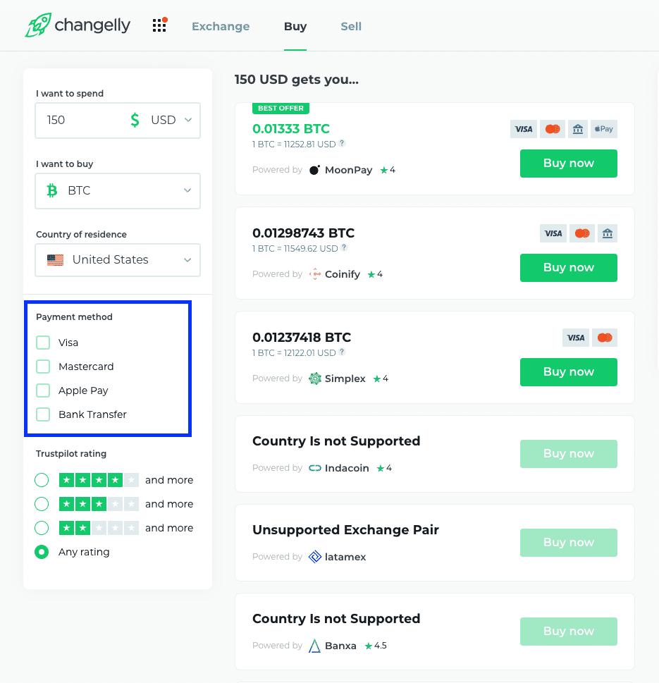 easiest way to buy bitcoin