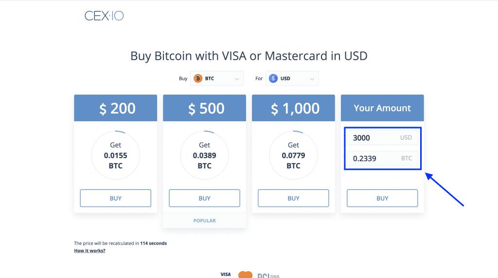 buy bitcoin cheap on cex.io