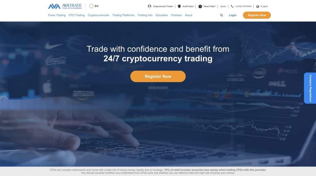 avatrade best crypto trading platform