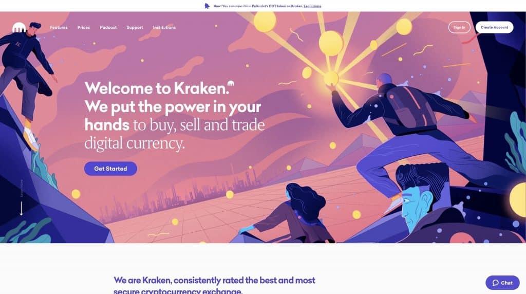 kraken crypto trading platform us
