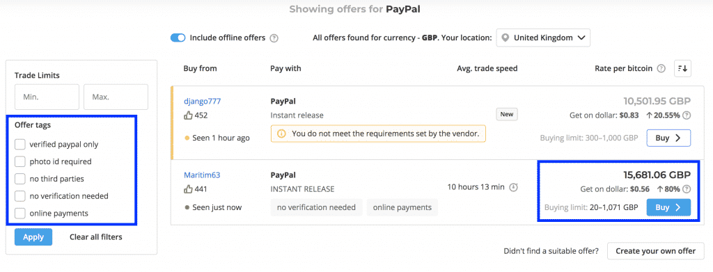 How to Buy Bitcoin in UK with PayPal