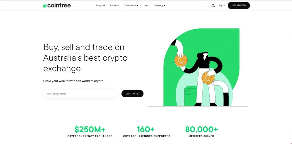cointree home page